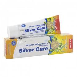 Зубная паста для детей от 0 до 3 лет, Сильвер Кэа Экологичная защита с серебром 30 мл